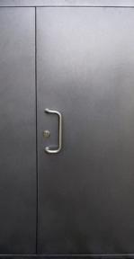 Пример подъездной металлической двери