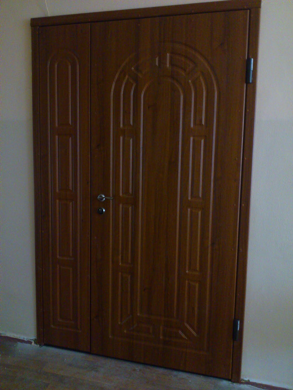 железные двери из мдф